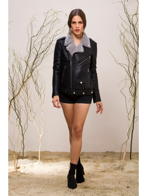 Emelda Shearling Jacket