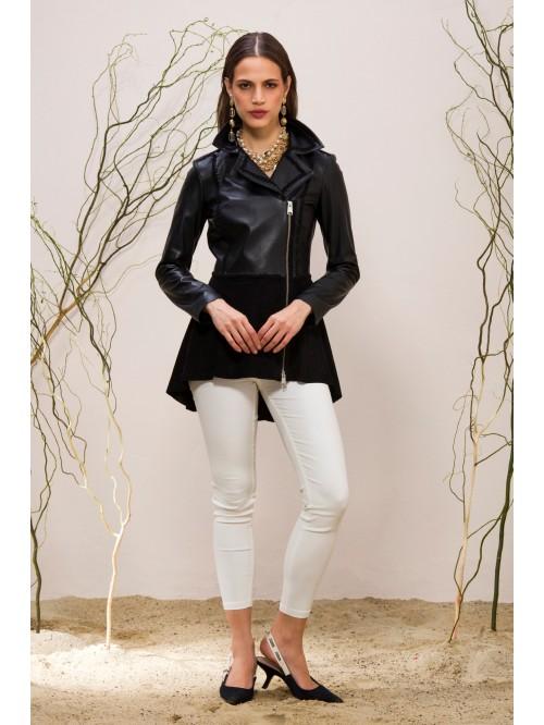 Emelda Leather Jacket